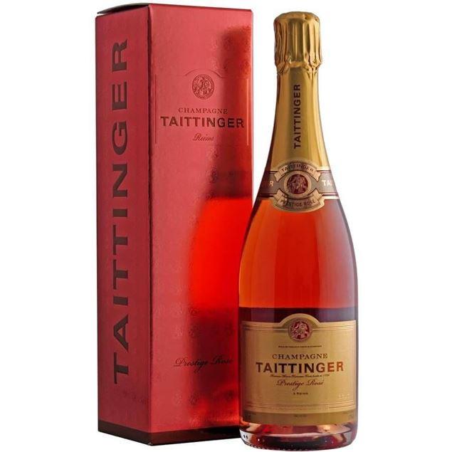 Taittinger Prestige Rosé NV - Venus Wine & Spirit