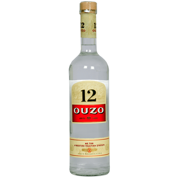 VENUS WINE & SPIRIT MERCHANTS PLC. Ouzo 12