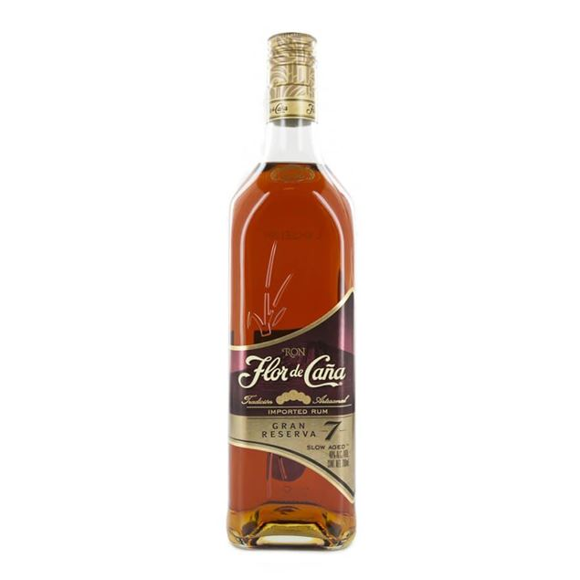 Flor de Caña 7yr Grand Reserve Rum - Venus Wine & Spirit