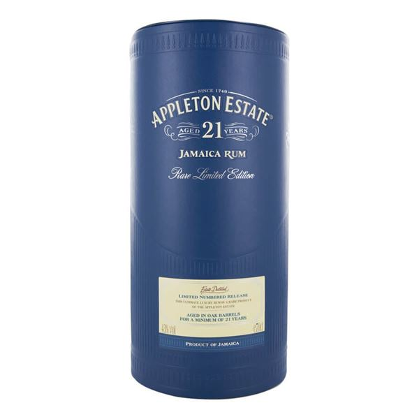 Appleton 21yr Rum - Venus Wine & Spirit