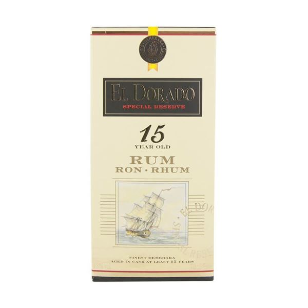 El Dorado 15yr Rum - Venus Wine & Spirit