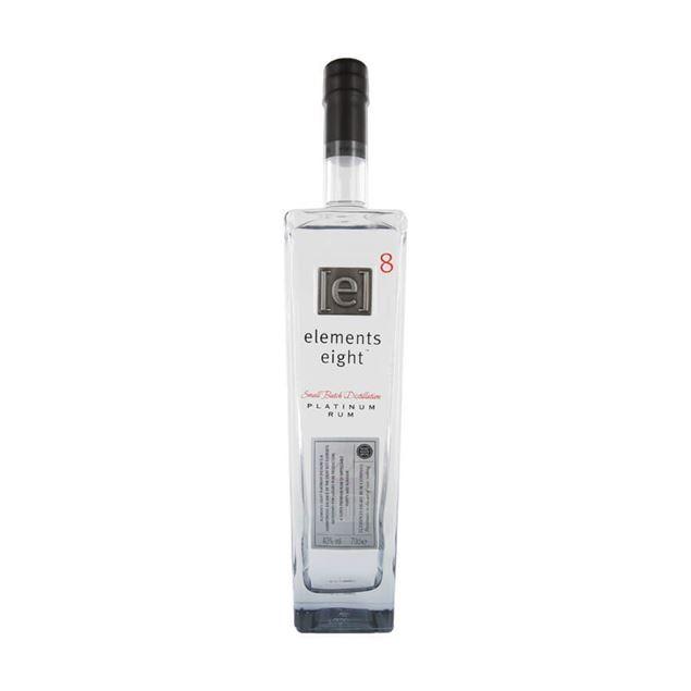 Elements 8 Platinum 4yr Rum - Venus Wine & Spirit