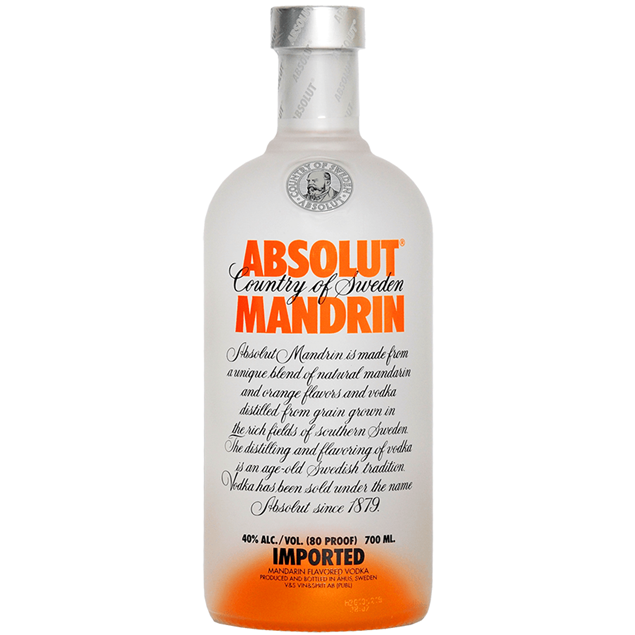 Absolut Mandarin Vodka - Venus Wine & Spirit