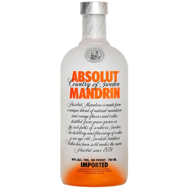 Absolut Mandarin Vodka - Venus Wine & Spirit