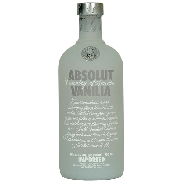 Absolut Vanilla Vodka - Venus Wine & Spirit