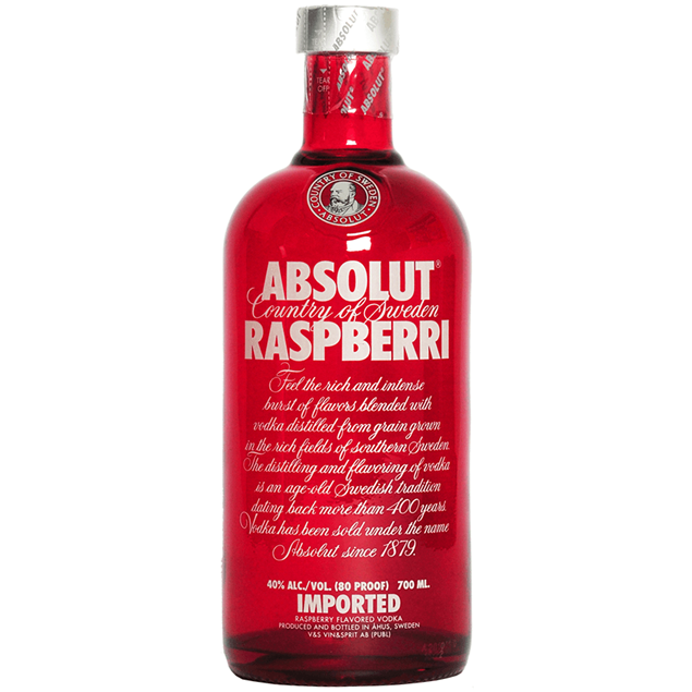 Absolut Raspberry Vodka - Venus Wine & Spirit