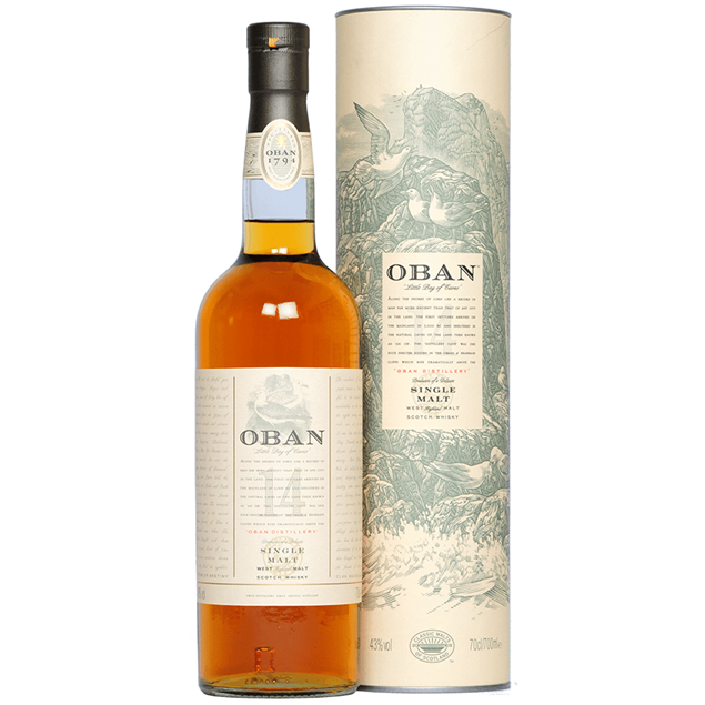Oban 14yr Whisky - Venus Wine & Spirit