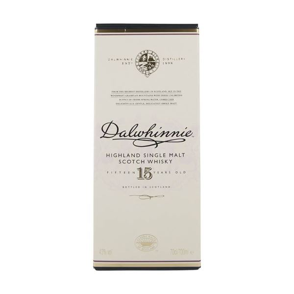 Dalwhinnie 15yr  Whisky - Venus Wine & Spirit