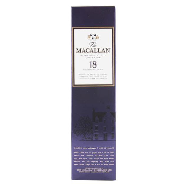 Macallan 18yr Whisky - Venus Wine & Spirit