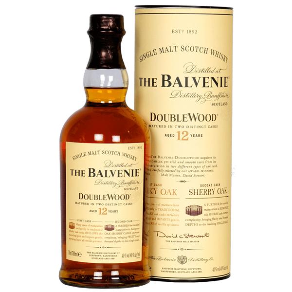 Balvenie malt 12yr Doublewood Whisky - Venus Wine & Spirit