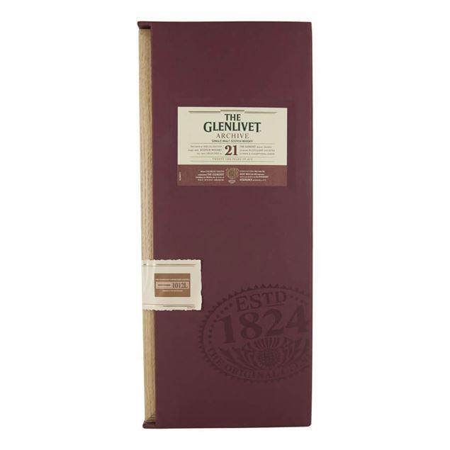 Glenlivet 21yr Whisky - Venus Wine & Spirit