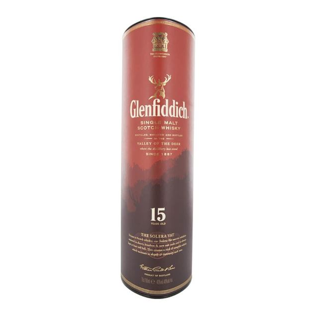Glenfiddich 15yr Whisky - Venus Wine & Spirit