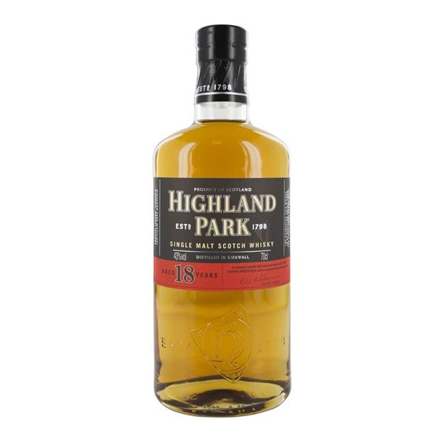Highland Park 18yr Whisky - Venus Wine & Spirit