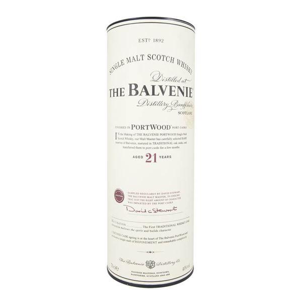 Balvenie malt 21yr Portwood Whisky - Venus Wine & Spirit