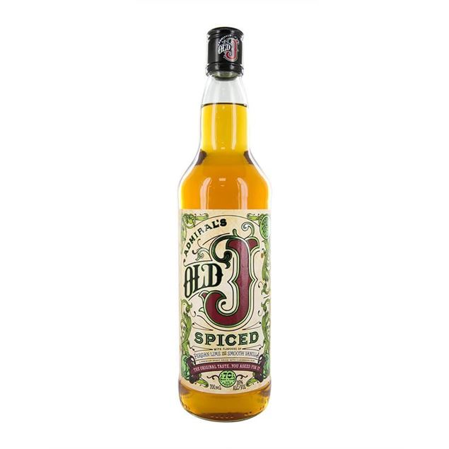 Old J Spiced Rum - Venus Wine & Spirit