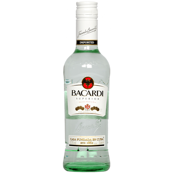 Bacardi Carta Blanca Rum - Venus Wine & Spirit