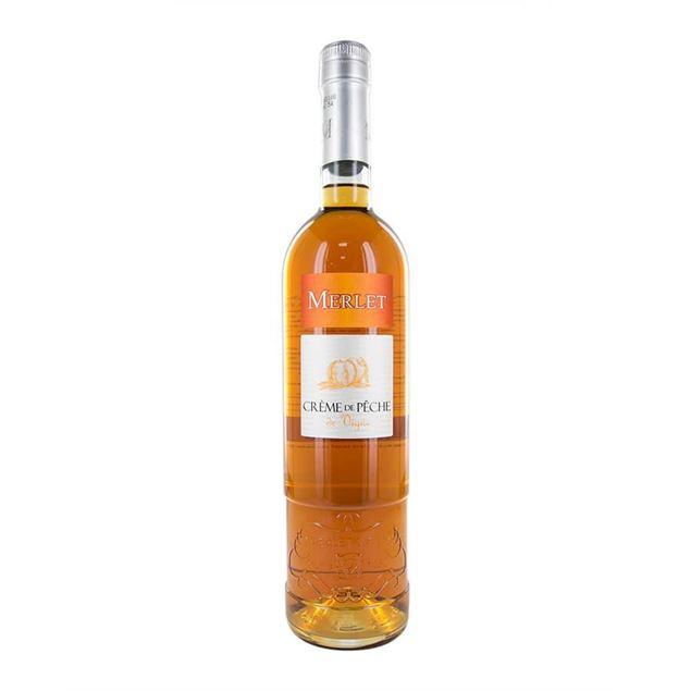 Merlet Crème de Peche - Venus Wine & Spirit