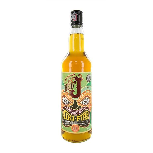 Old J Tiki Fire Rum - Venus Wine & Spirit