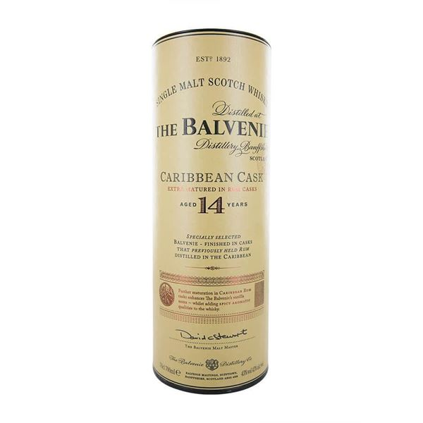 Balvenie 14 yr. Caribbean Cask Whisky - Venus Wine & Spirit