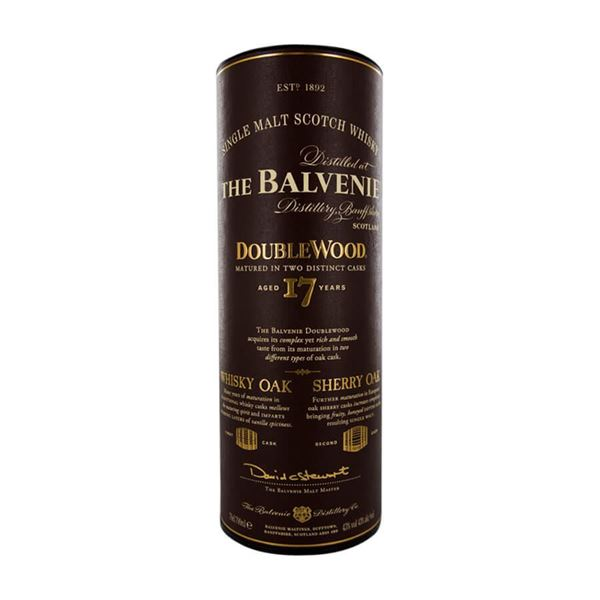 Balvenie 17 yr. Double Wood Whisky - Venus Wine & Spirit