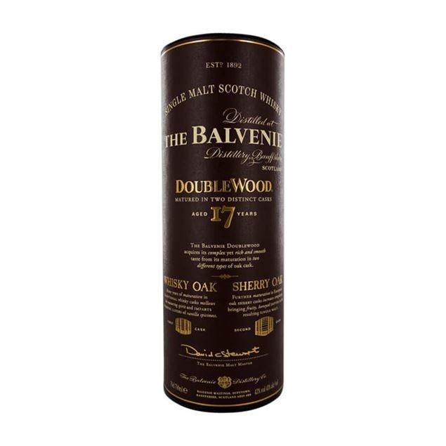 Balvenie 17 yr. Double Wood Whisky - Venus Wine & Spirit