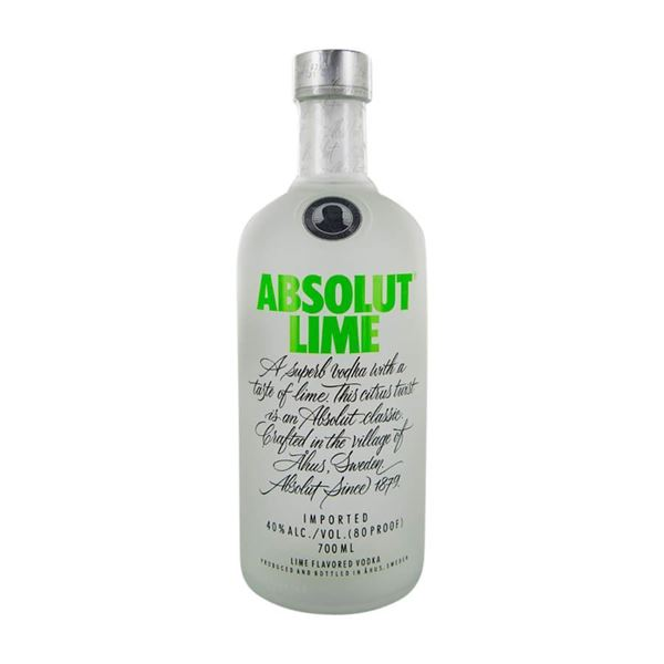 Absolut Lime Vodka - Venus Wine & Spirit