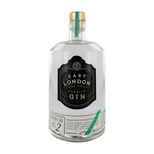 East London Liquor Company Premium Gin Batch 2 - Venus Wine & Spirit