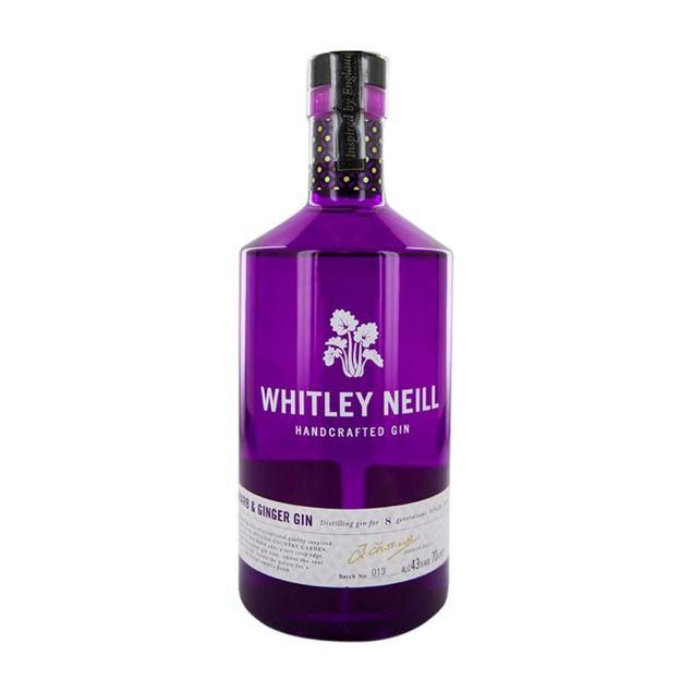 Whitley Rhubarb Ginger Gin - Venus Wine & Spirit