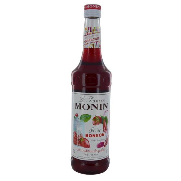 Monin Fraise - Venus Wine & Spirit