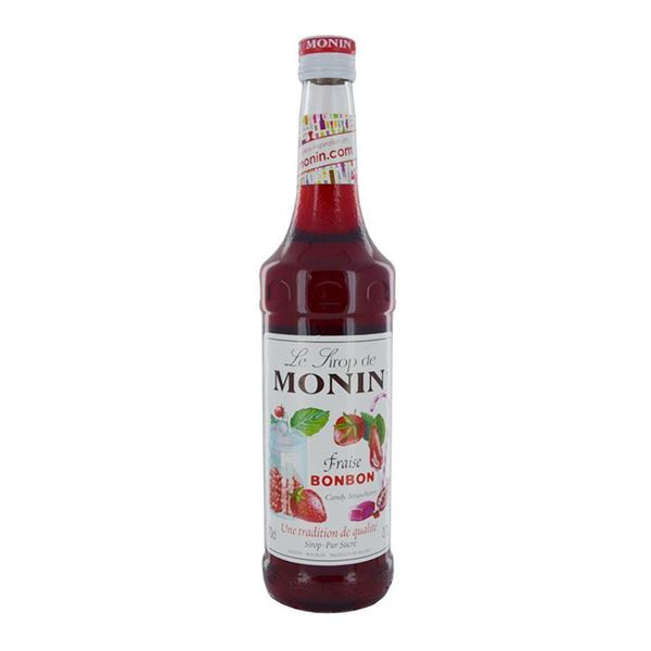 Monin Strawberry Bon (Candy) - Venus Wine & Spirit