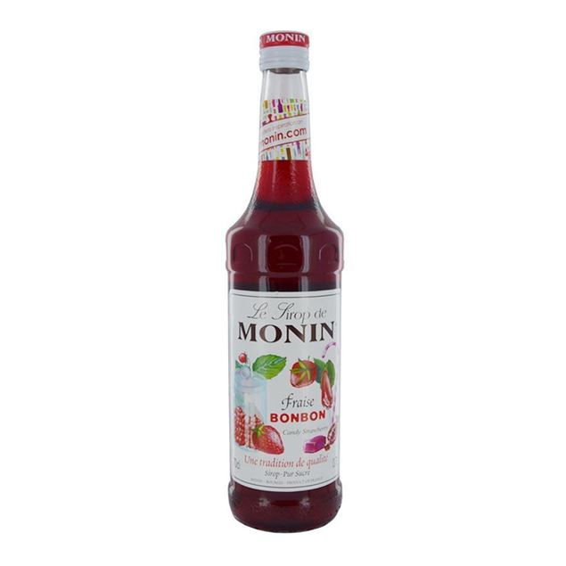Monin Strawberry Bon (Candy) - Venus Wine & Spirit