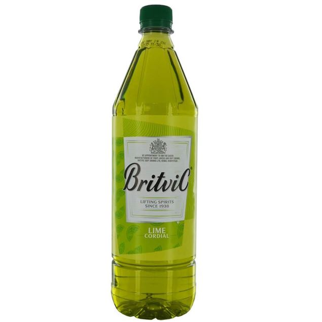 Britvic Lime Cordial - Venus Wine & Spirit