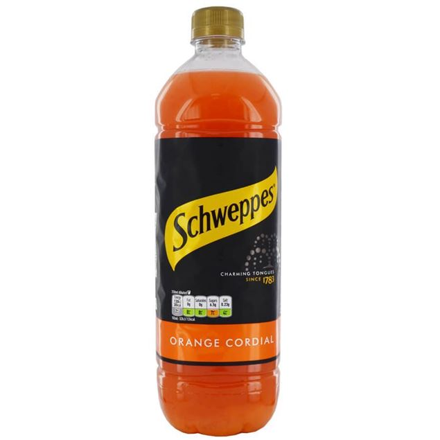 Shweppes Orange Cordial - Venus Wine & Spirit