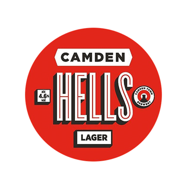 Camden Hells Lager Keg - Venus Wine and Spirit