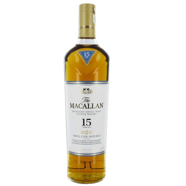 Macallan 15 year old Triple Cask - Venus Wine & Spirit