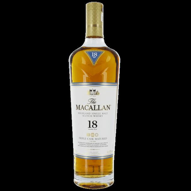 Macallan 18 year old Triple Cask - Venus Wine & Spirit