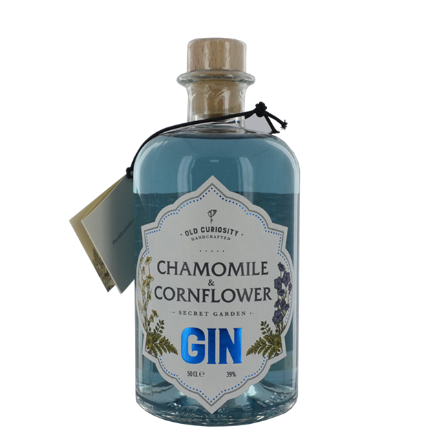 Old Curiosity Gin Chamomile & Cornflower - Venus Wine & Spirit