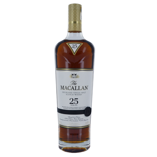 Macallan 25yr Whisky - Venus Wine & Spirit