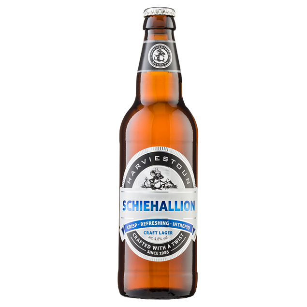 Harviestoun Schiehallion 500ml - Venus Wine & Spirit