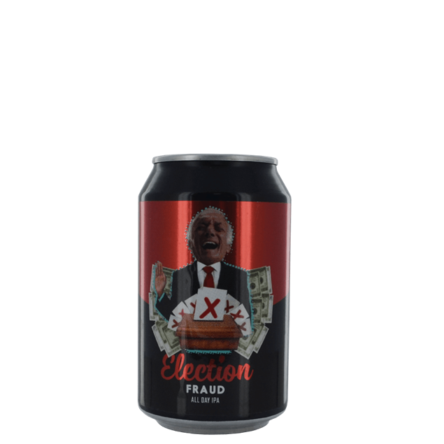 Election Fraud Cans - Venus Wine & Spirit
