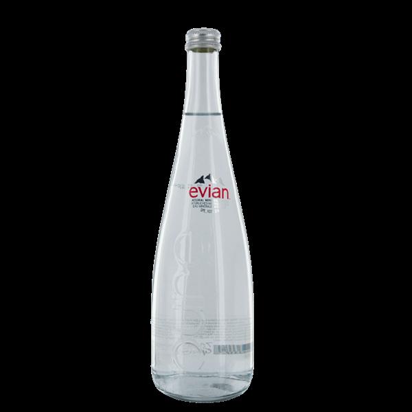 Evian Water Glass - Venus Wine & Spirit