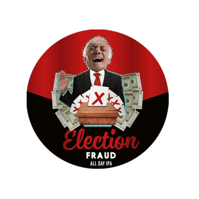 Election Fraud Keg - Venus Wine & Spirit