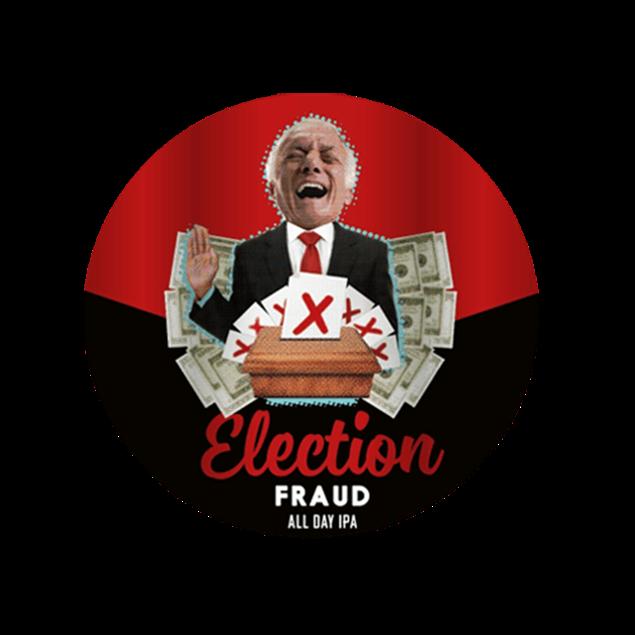 Election Fraud Keg - Venus Wine & Spirit