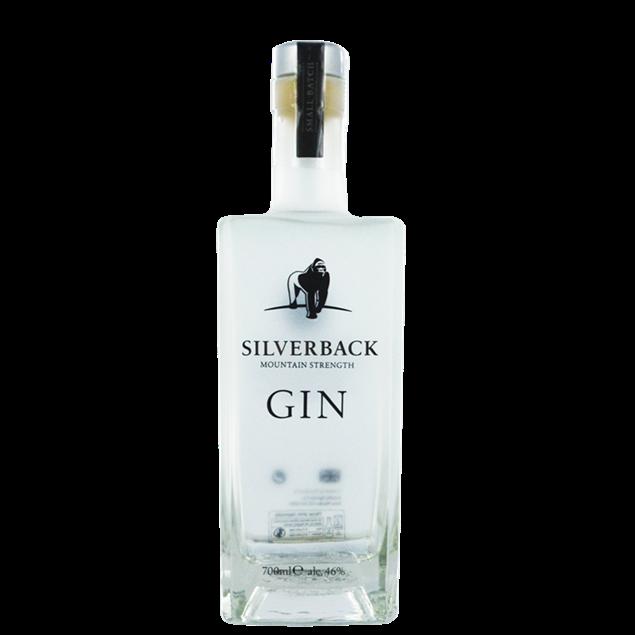 Silveback Mountain Strenght Gin - Venus Wine & Spirit