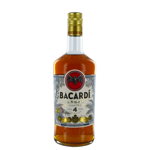 Bacardi Anejo Cuatro Rum - Venus Wine & Spirit
