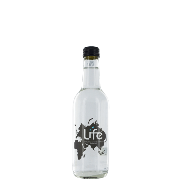 Life Sparkling Water Glass - Venus Wine & Spirit