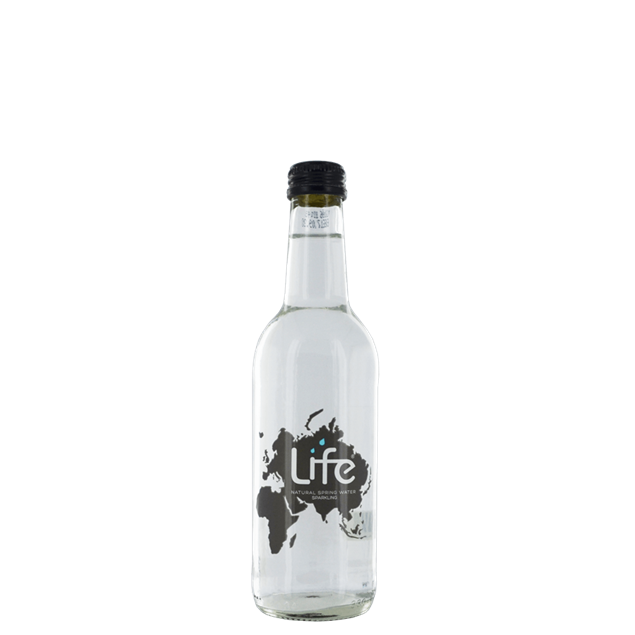 Life Sparkling Water Glass - Venus Wine & Spirit