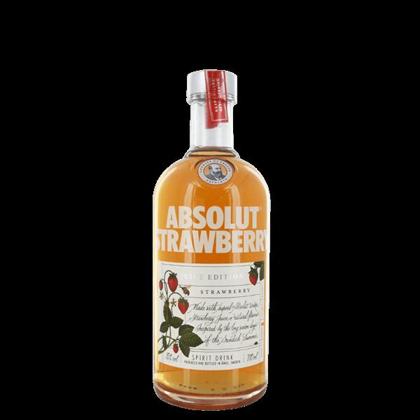 Absolut Strawberry Juice Vodka - Venus Wine & Spirit