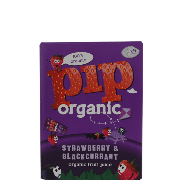 PIP Organic Strawberry & Blackcurrant Kids Juice - Venus Wine & Spirit