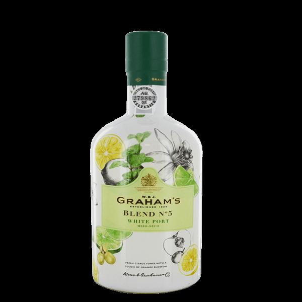 Graham's Blend No 5 White Port - Venus Wine & Spirit